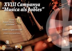 XXI CONCERT DE FESTES dins de la XVIII campanya MÚSICA ALS POBLES @ Auditori Paco Hernandez (Casa de la Cultura) | Mutxamel | Comunitat Valenciana | Espanya